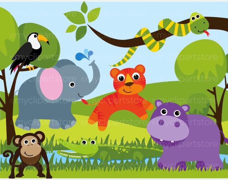 Zoo clipart easy animal Com 3 Zoo clipart image