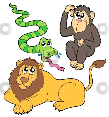 Zoo clipart easy animal  stock b2 Animal Animal