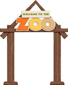 Zoo clipart entrance sign Arana Fun KITS 7 SCRAP