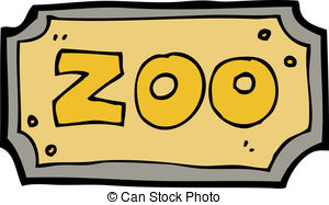 Zoo clipart entrance sign Zoo Zoo Clipart sign Illustrations