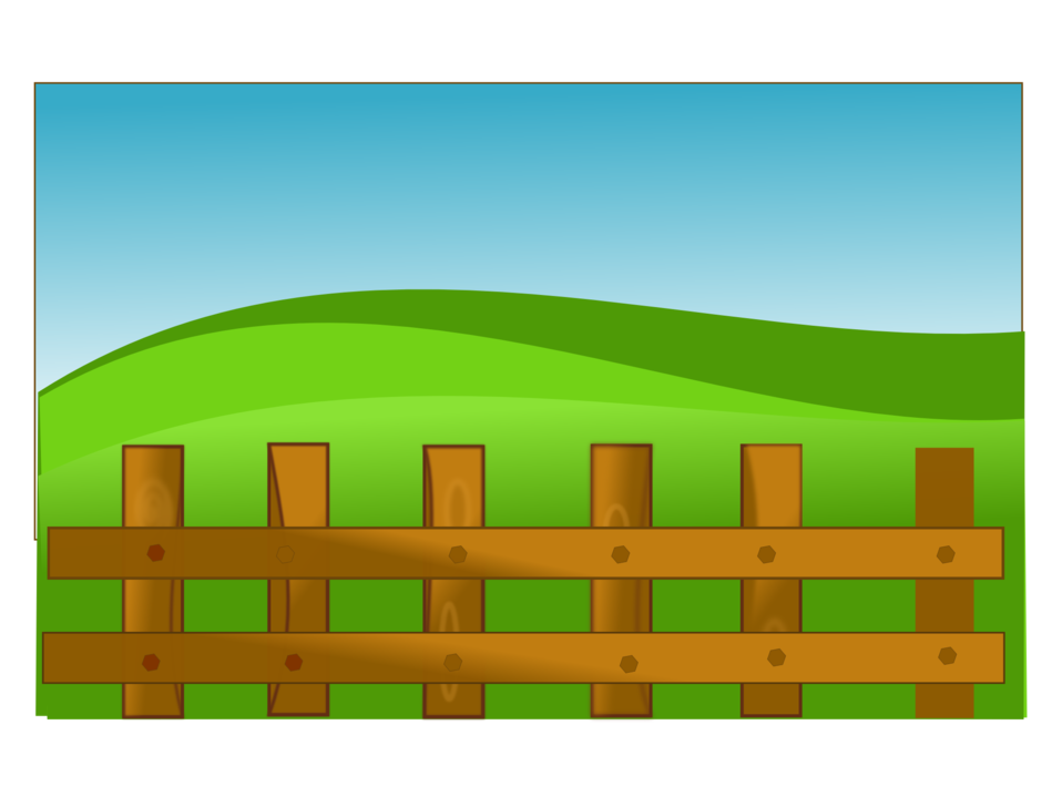 Fence clipart zoo #14