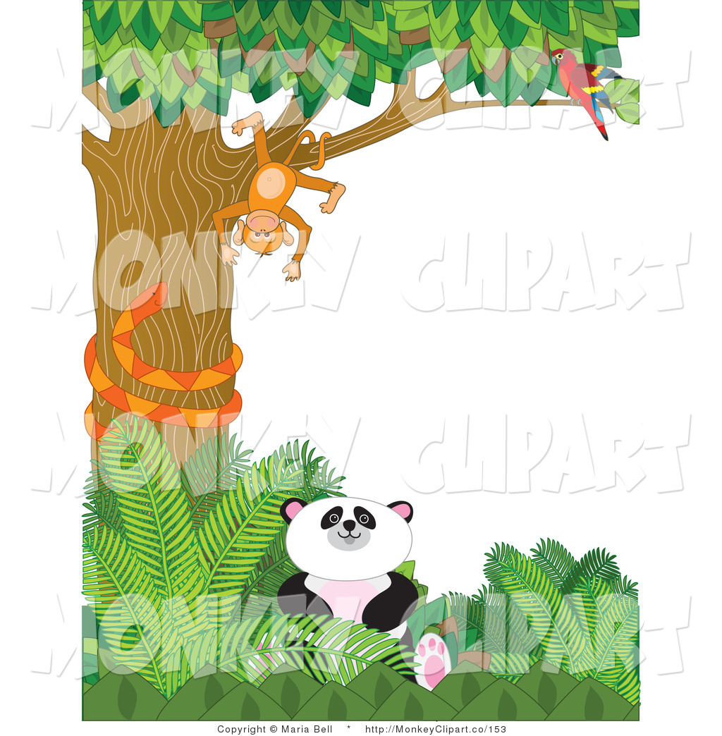 Panda clipart monkey Clip Snake Animals Macaw Stock
