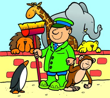 Zoo clipart guard Tools ZooKeeper Cliparts New Free