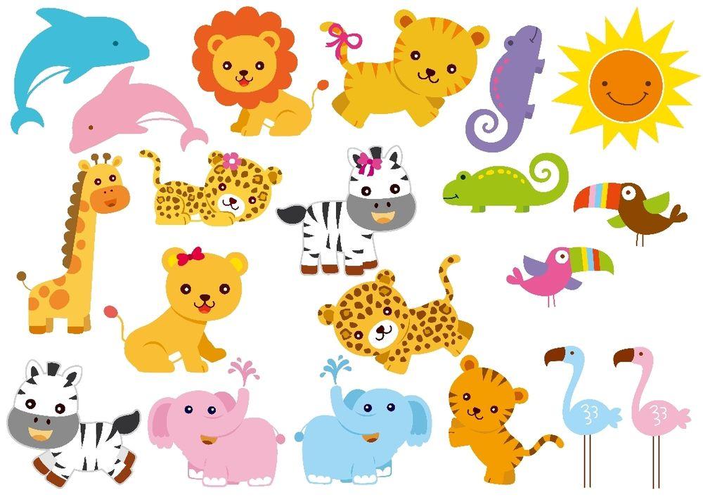 Animal clipart printable Baby Baby Jungle Animals