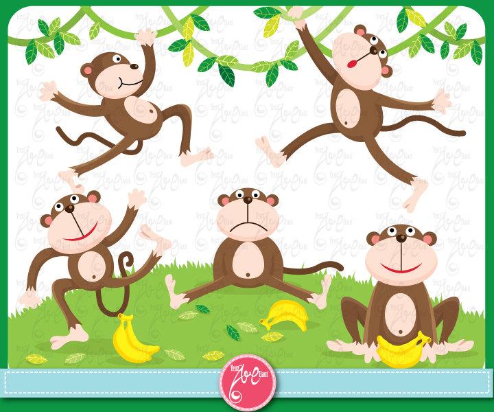Zoo clipart jungle monkey Clipart Cartoon Cartoon Download Monkey