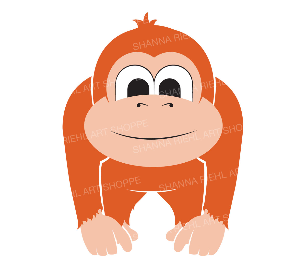 Chimpanzee clipart moneky A Animals This is Use