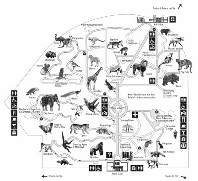 Zoo clipart layout Jpg  2007_melbourne_map