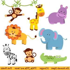 Zoo clipart layout ClipArTidy New Animals Design Clipart