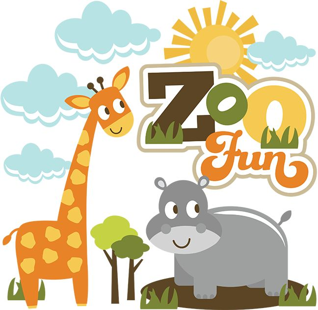 Zoo clipart layout Best Pinterest Titles SVG images