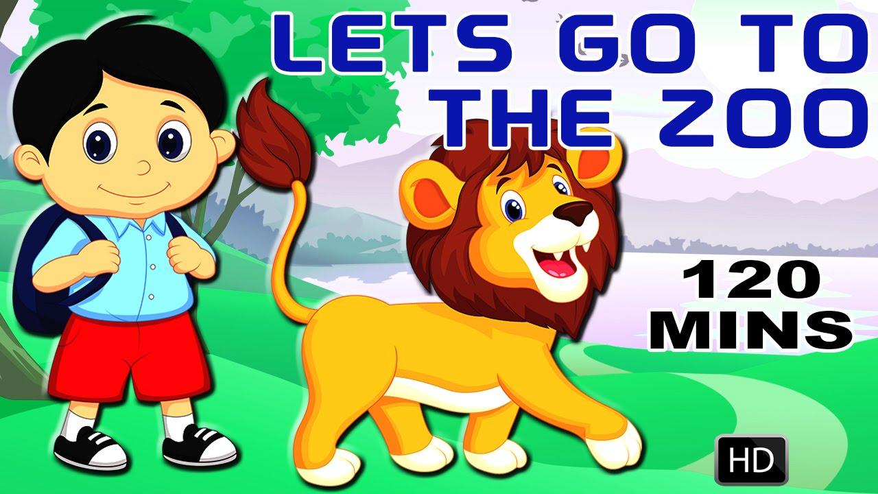 Zoo clipart let's go Songs Cartoon Nursery Zoo English