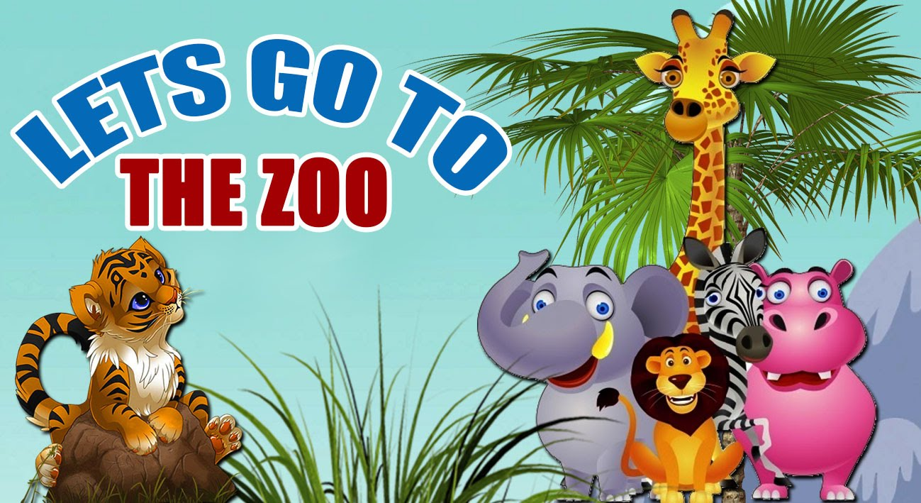 Zoo clipart let's go GO THE Songs Songs For