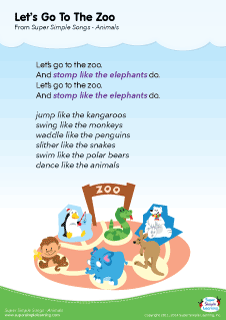 Zoo clipart let's go Super Learning for Zoo Go