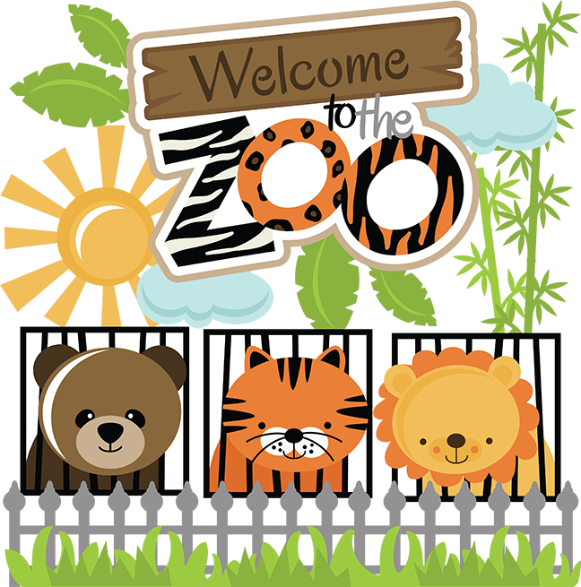 Zoo clipart lion tiger Svg svg Download Zoo Zoo