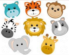 Baby Animal clipart unusual Dog Faces Free Art Art