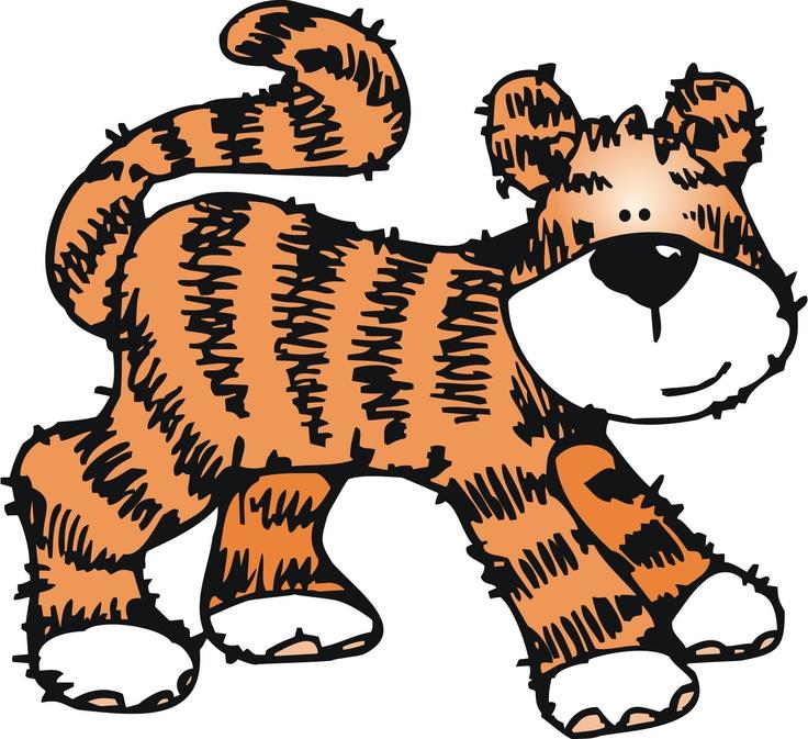Tigres clipart zoo animal #3