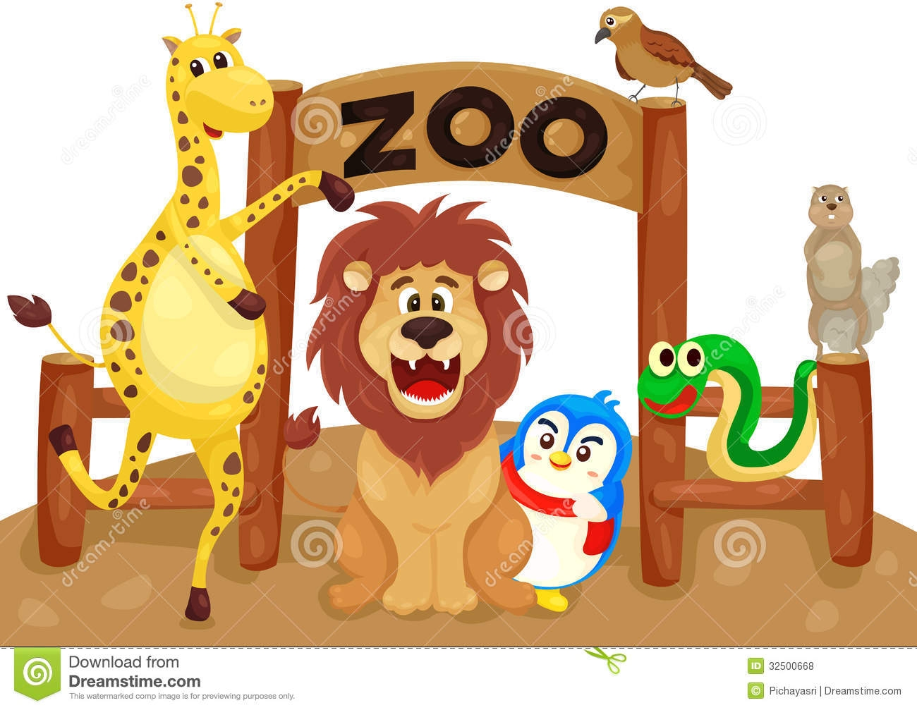 Zoo clipart petting zoo Petting Zoo White Black And