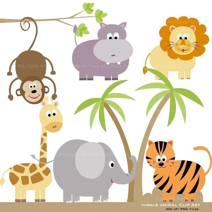 Zoo clipart simple animal $6 Original Pinterest Clip by