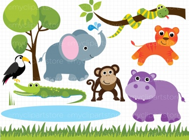 Zoo clipart simple animal Clipart Free  animal Free