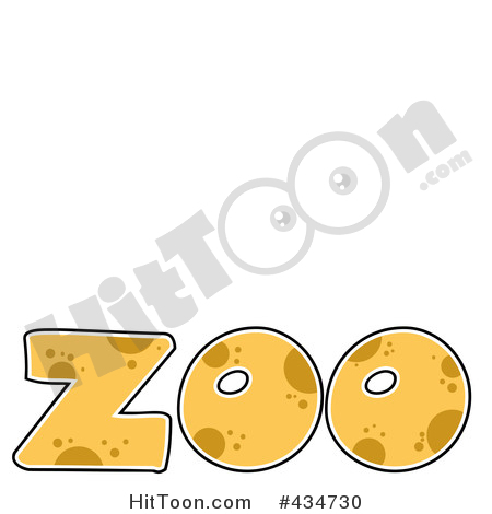 Zoo clipart the word Clipart ZOO Free Patterned ZOO