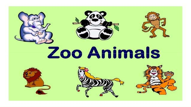 Zoo clipart the word The ASL Zoo At zoo