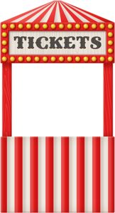 Zoo clipart ticket booth Images CLIPART CIRCUS on CIRCUS