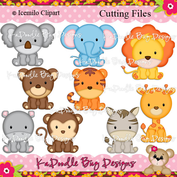 Zoo clipart together  Free monkeys Pattern Cute