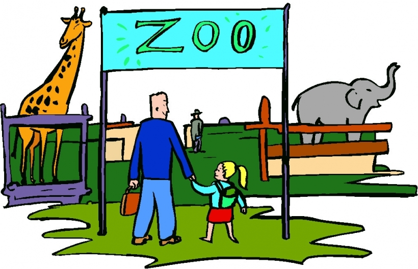Zoo clipart together Art clipart images zoo free