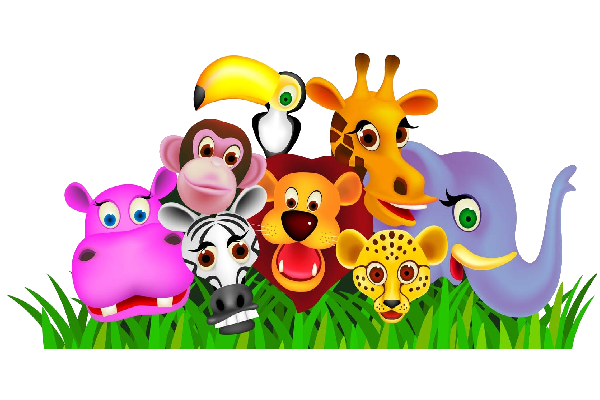 Zoo clipart together Baby  Animal's Pinterest animals