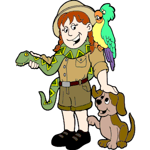 Zoo clipart trainer Keeper Clipart Animal cliparts Keeper