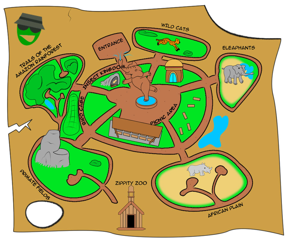 Zoo clipart zoo map Zoo Mayhem Nuke Nuke DeviantArt