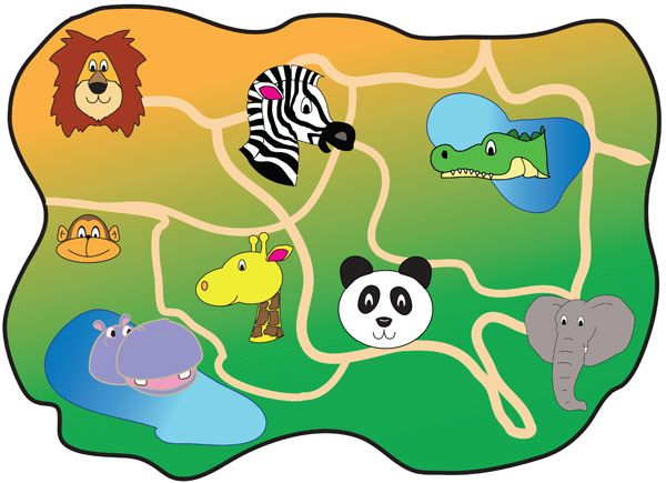 Zoo clipart zoo map For play Role A