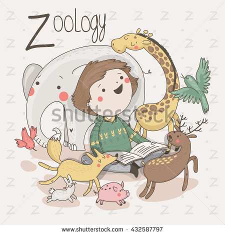 Zoo clipart zoologist Vector clipart collection Boy Zoologist