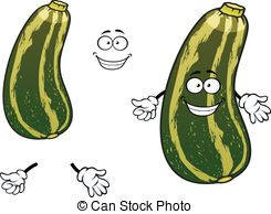 Zucchini clipart cartoon Cartoon zucchini cartoon green 740