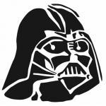 Darth Vader Helmet Vinyl Decal STAML23 by Stickeesbiz on Etsy