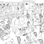 How to draw groups of people and crowds - Digital Arts