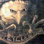 Harely Davidson eagle-Pencil Drawing | Harley Davidson logo … | Flickr