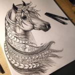 101 best Horse Tattoos images on Pinterest