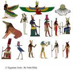 13 Ancient Egyptian Gods and Goddesses - Stock by Neko3hiki | best ...