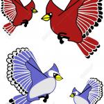 Flying Blue Jay Clipart - Cliparts and Others Art Inspiration