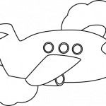 jet clipart black and white 437 airplane #design | 91 Black And ...