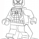 Lego Spiderman coloring page | Free Printable Coloring Pages