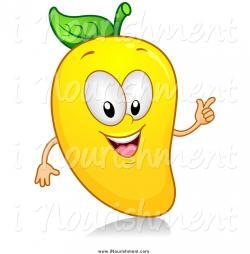 Mango clipart cartoon