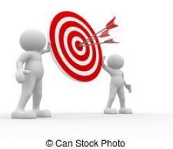 Target clipart sale executive