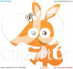 Aardvark clipart Cute Aardvark