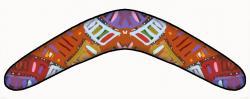 Aborigines clipart boomerang