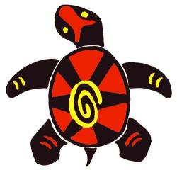 Native American clipart turtle