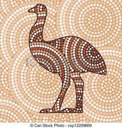 Emu clipart
