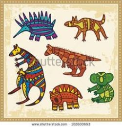 Aborigines clipart australian animal