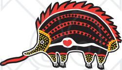 Aborigines clipart echidna