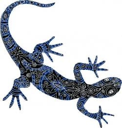 Aborigines clipart reptile